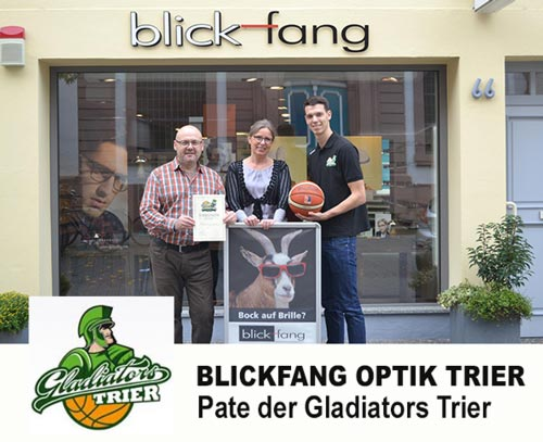 Pate Gladiators Trier Blickfang Optik Trier